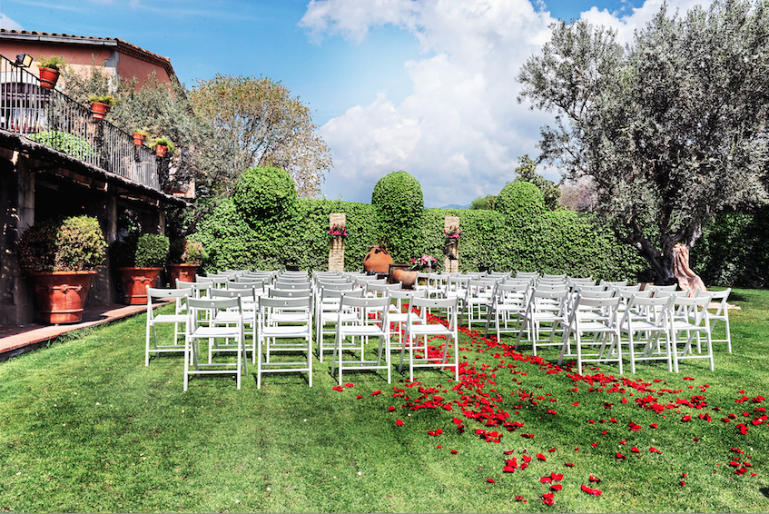 jardines para boda civil