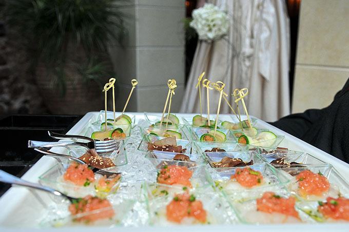 Gastronomia banquete de boda