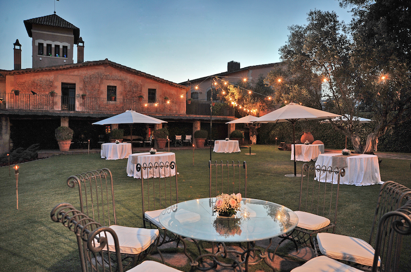 jardines para bodas Barcelona
